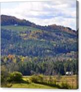 Hills Of Vermont Canvas Print