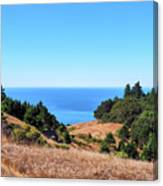 Hills To The Sea Canvas Print
