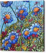Hillside Blues Canvas Print