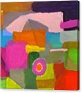 Hillside Campsite Canvas Print