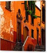 Hillside Casas Canvas Print