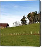 Hillside Farming Canvas Print
