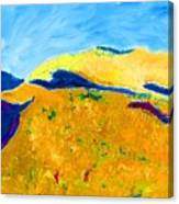 Hillside Impression Canvas Print