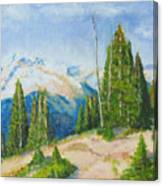 Hillside In Spring, 9x12, Oil, '07 Canvas Print