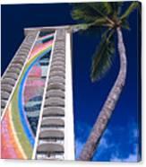 Hilton Hawaiian Village Canvas Print