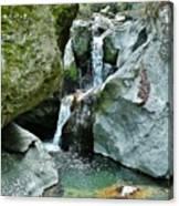Himalayan Waterfalls Canvas Print
