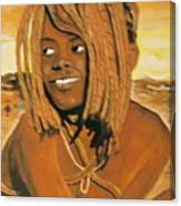 Himba Girl Canvas Print