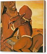 Himba Mom Canvas Print