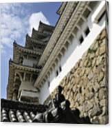 Himeji Castle Tower Canvas Print