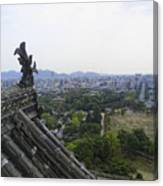 Himeji City From Shogun's Castle Canvas Print