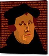 Himself Canvas Print