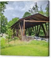Hindman Memorial Covered Bridge Canvas Print