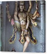 Hindu Goddess Khali Canvas Print
