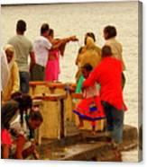 Hindu Offering 2 Canvas Print