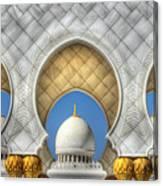 Hindu Temple Canvas Print