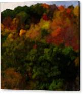 Hint Of Fall Color Painting Canvas Print