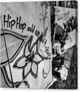 Hip Hop We Don't Stop Canvas Print