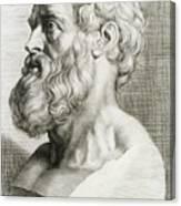 Hippocrates, Greek Physician Canvas Print