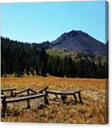Hiram Peak Canvas Print