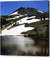 Hiram Peak Glaciers Canvas Print