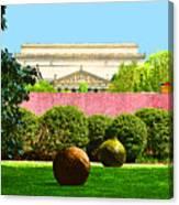 Hirshhorn Colour Canvas Print