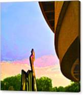 Hirshhorn Sky Canvas Print