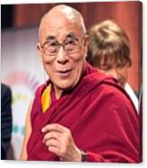 His Holiness The 14th Dalai Lama Photo By Christopher Michel 2012 Canvas Print