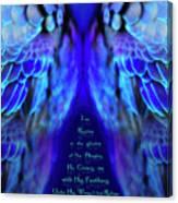 Beneath His Wings 2 Canvas Print