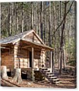 Historic Cabin Canvas Print