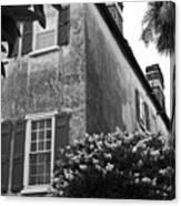 Historic Charleston Home Canvas Print