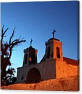 Historic Chiu Chiu Church Chile Canvas Print