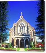 Historic Church Maui Canvas Print