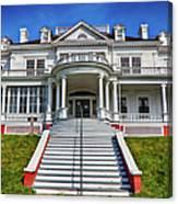 Historic Cone Manor Blue Ridge Parkway Canvas Print