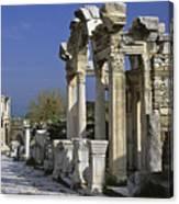 Historic Ephesus Canvas Print