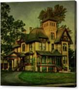 Historic Home Canvas Print