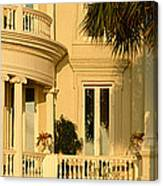 Historic Home On Battery Street Canvas Print
