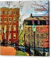 Historic Intersection Canvas Print