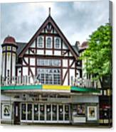 Historic Keswick Theater In Glenside Pa Canvas Print