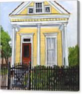 Historic Louisiana Cottage Canvas Print