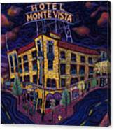 Historic Monte Vista Hotel Canvas Print