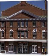 Historic Roanoke City Market Building Canvas Print