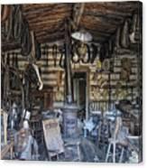 Historic Saddlery Shop - Montana Territory Canvas Print