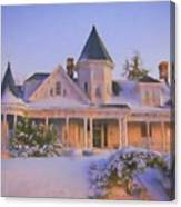Historic Sidna Allen House Canvas Print