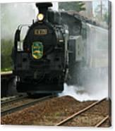 Historic Steam Train Canvas Print