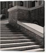Historic Steps Little Rock Central High School Canvas Print