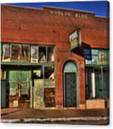 Historic Storefront In Bisbee Canvas Print