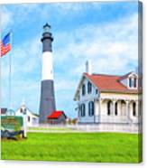Historic Tybee Island Light Station Canvas Print