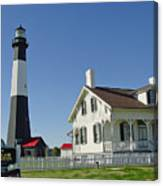 Historic Tybee Island Lighthouse II Canvas Print