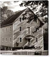 Historic Walnford Mill Canvas Print