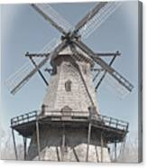 Historic Windmill Canvas Print